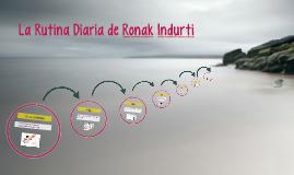 La Rutina Diaria de Ronak Indurti