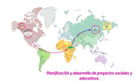Planificación y desarrollo de proyectos sociales y educativos