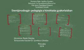 Szentjánosbogár-pedagógia a közoktatás gyakorlatában