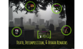 Death, Decomposition, & Human Remains