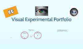 Visual Experimental Portfolio
