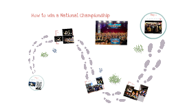 How to win a National Championship
