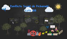 Conflicto Social de Pichanaki - Lote 108