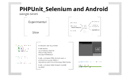Scrivere test in PHP che usano il browser Android