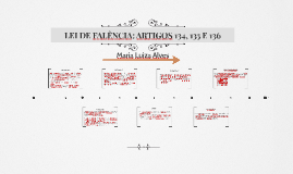 LEI DE FALÊNCIA: ARTIGOS 134, 135 E 136