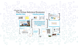 The Urban Informal Economy