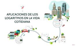 Copy of LOS LOGARITMOS EN LA VIDA COTIDIANA