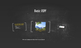 Basic OSPF