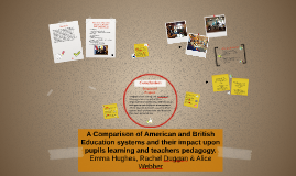 Copy of A Comparison of American and British Education systems