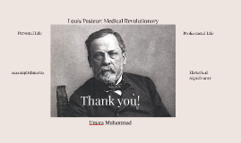 Louis Pasteur: Medical Revolutionary