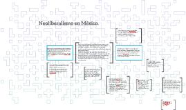 Neoliberalismo en México.