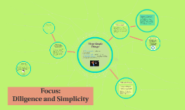 Focus - Diligence and Simplicity