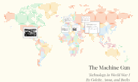 The Machine Gun in WWI