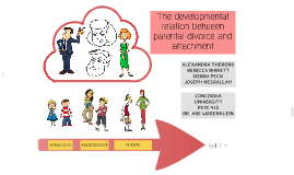 Copy of The effects of divorce on attachment and later relationships