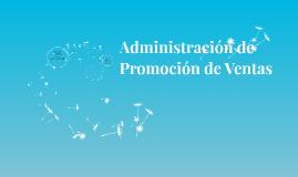 Administración de Promoción de Ventas
