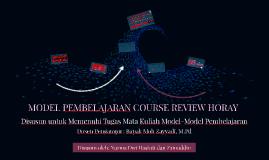 Model Pembelajaran Course Review Horay