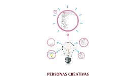 PERSONAS CREATIVAS