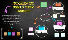 Copy of APLICACIÒN DEL MODELO INSUMO PRODUCTO