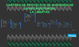 CARTERA DE PROYECTOS DE INVERSIÓN DE LA RED ASISTENCIAL