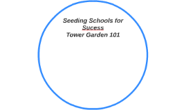 Seeding Schools for Sucess