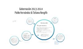 Gobernación 2013-2014