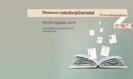 Flamenco e interdisciplinariedad