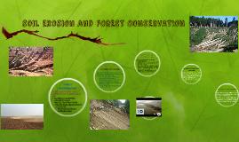 soil erosion and deforestation