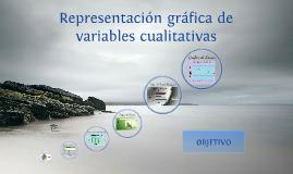 REPRESENTACIÓN GRÁFICA DE VARIABLES CUALITATIVAS
