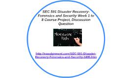 STR 581 Final Exam 3
