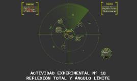 Copy of ACTIVIDAD EXPERIMENTAL Nº 18 REFLEXIÓN TOTAL Y ÁNGULO LÍMITE