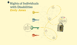 Rights of Individuals with Disabilities