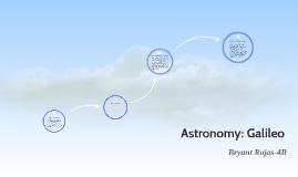 Astronomy: Galileo