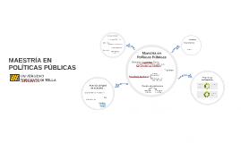 Copy of Maestría en Políticas Públicas