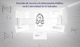 Copy of Derecho de Acceso a la Información Pública en la Universidad
