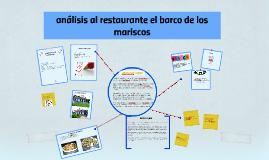 Copy of analisis del restaurante el barco de los mariscos