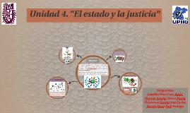"""Unidad 4. """"El estado y la justicia"""""""