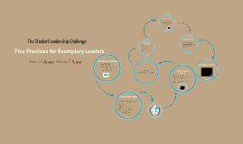 The Student Leadership Challenge Overview