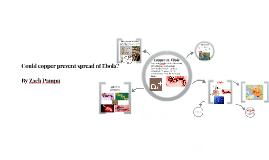 Copy of Could copper prevent spread of Ebola?