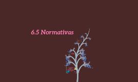 6.5 Normativas.