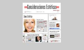 Consideraciones Estéticas