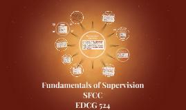 Fundamentals of Supervision