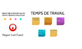 VEOLIA CRATL TEMPS DE TRAVAIL