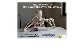 Argumentación y modelos explicativos en Anatomía