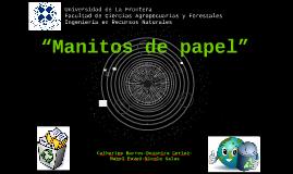 """""""Manitos de papel""""Catherine Barros-Deyanira Cortez-Mabel Pav"""