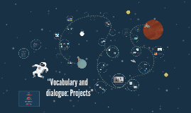 """""""Vocabulary and dialogue: Projects"""""""