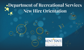 Department of Recreational Services New Hire Orientation