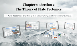 10.2 The Theory of Plate Tectonics