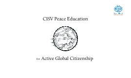 CISV Education and Evaluation Training