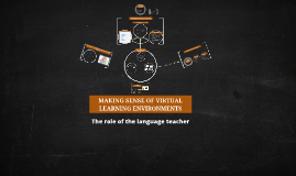 Copy of MAKING SENSE OF VIRTUAL LEARNIG ENVIRONMENTS