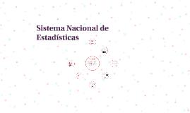 Sistema Nacional de Estadísticas